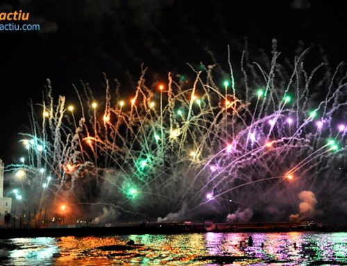 Sitge's fireworks show 2019